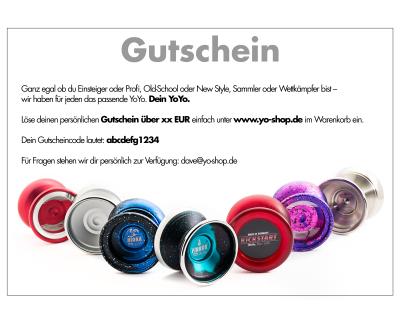 50 EUR Yo-Shop Gutschein